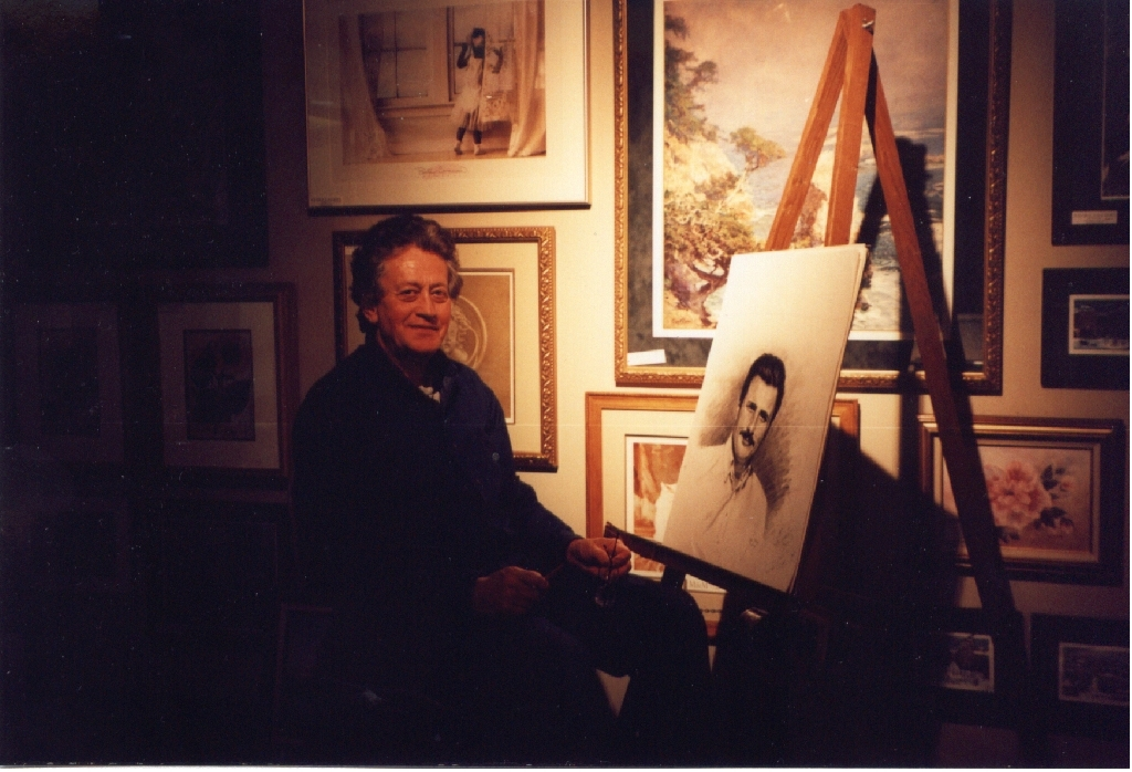 Click to enlarge photo of Mr. Fox (note the portrait of Bill)